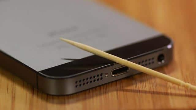 problemer med opladning af iphone 6 7 8