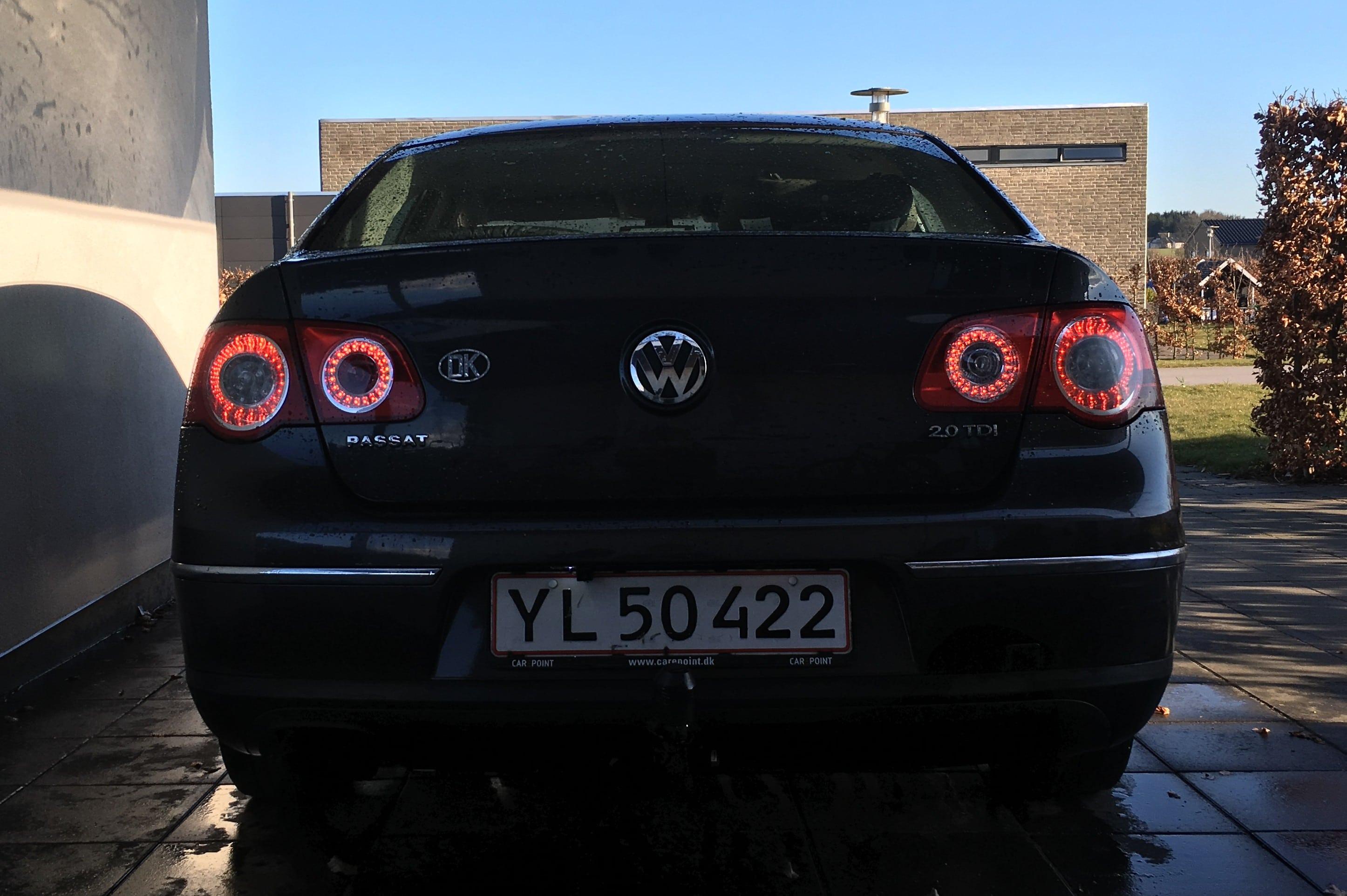 Skyline baglys på VW passat B6 fra 2007