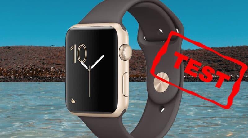 Apple watch 2 test