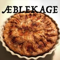 Æblekage opskrift sukker og kanel friske æbler kage æble rørsukker hurtig