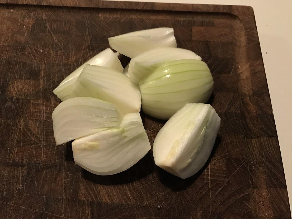 Zitauer løg Svensk Pølseret opskrift på svenskpølseret hvordan laver man hjemmelavet