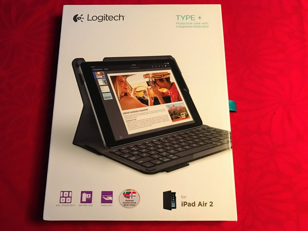 Indpakning Ipad Air 2 Keyboard