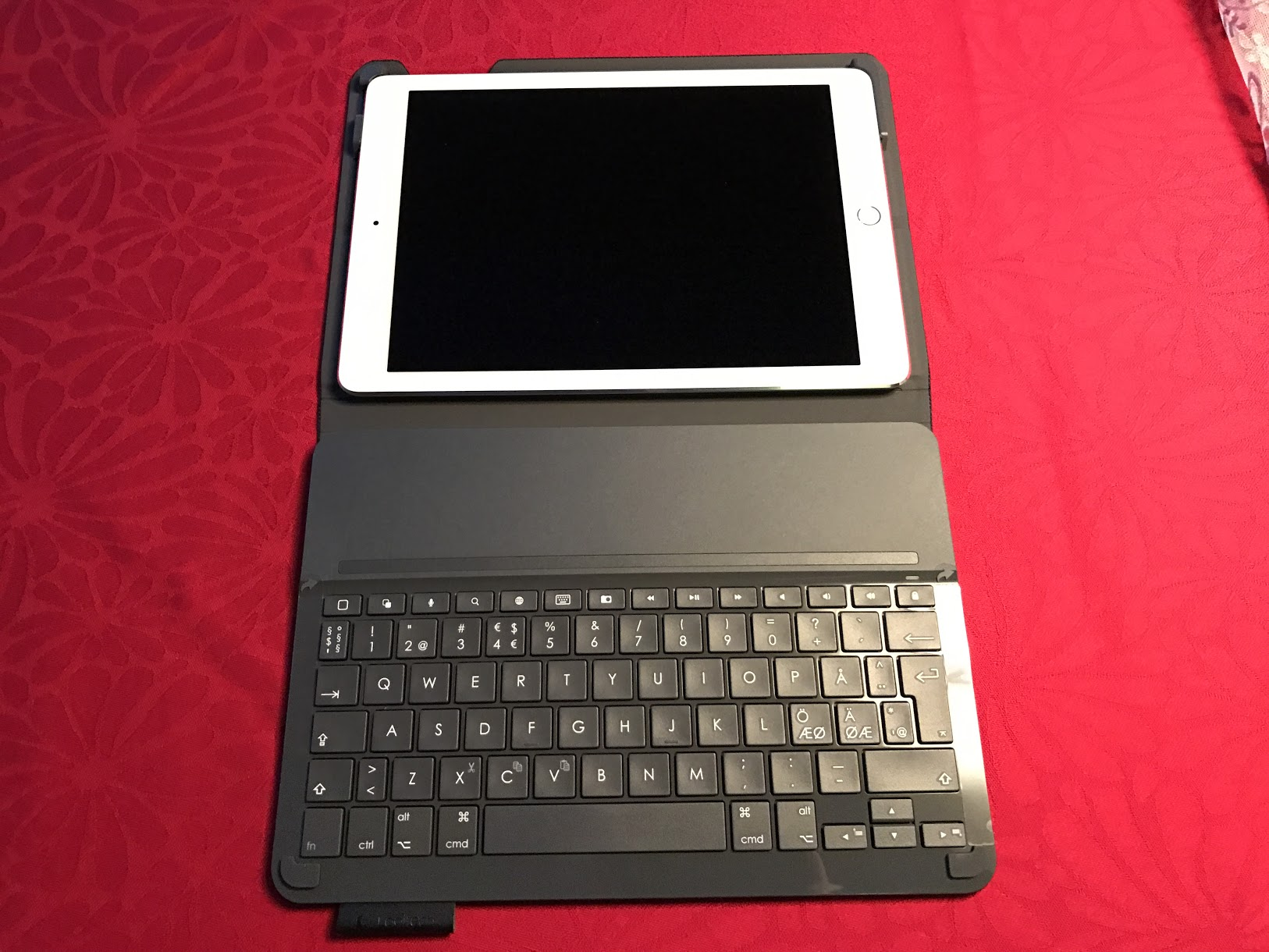 Keyboard og Ipad Air 2