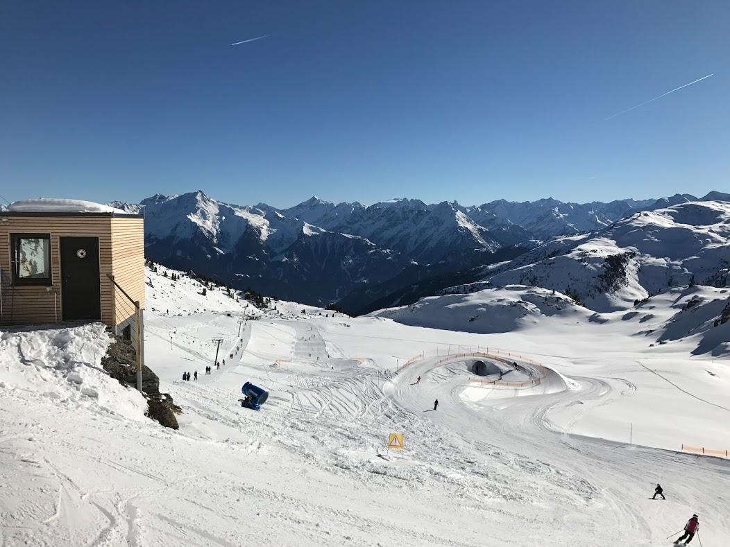 ny børne fun-park Kaltenbach skiferie Zillertal