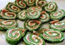 Lakseroulade med spinat, der pynter på ethvert middagsbord (opskrift)