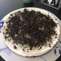 oreo cheesecake med oreos super lækker opskrift god cheese cake