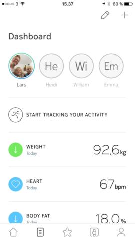 erfaring erfaringer test af nokia body cardio vægt virker den anmeldelse af health app