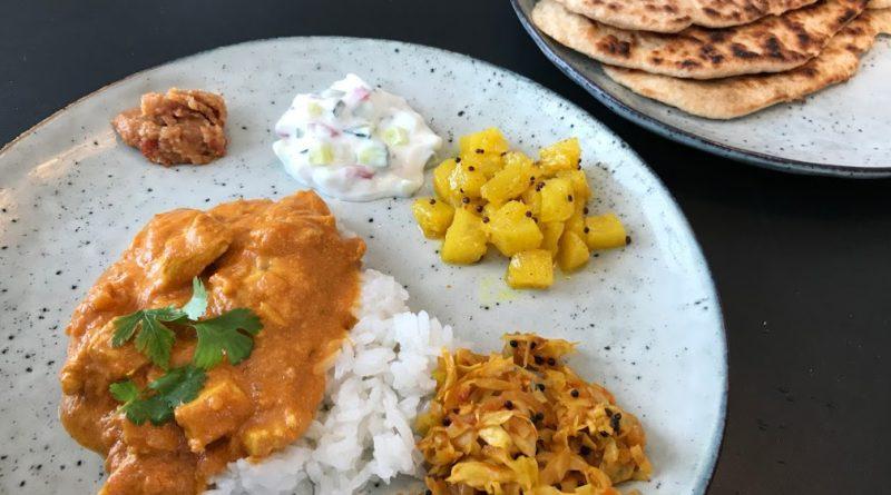chicken tikka masala kylling opskrift på indisk mad