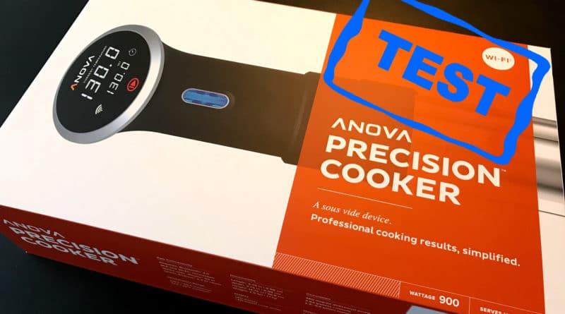 anova precision cooker wifi bluetooth sous vide test anmeldelse af den bedste maskine stick