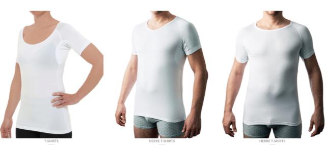 Drywear test anmeldelse erfaring undgå svedpletter på skjorter svedabsorberende undertrøje tshirt t-shirt virker det erfaring med anmeldelse af
