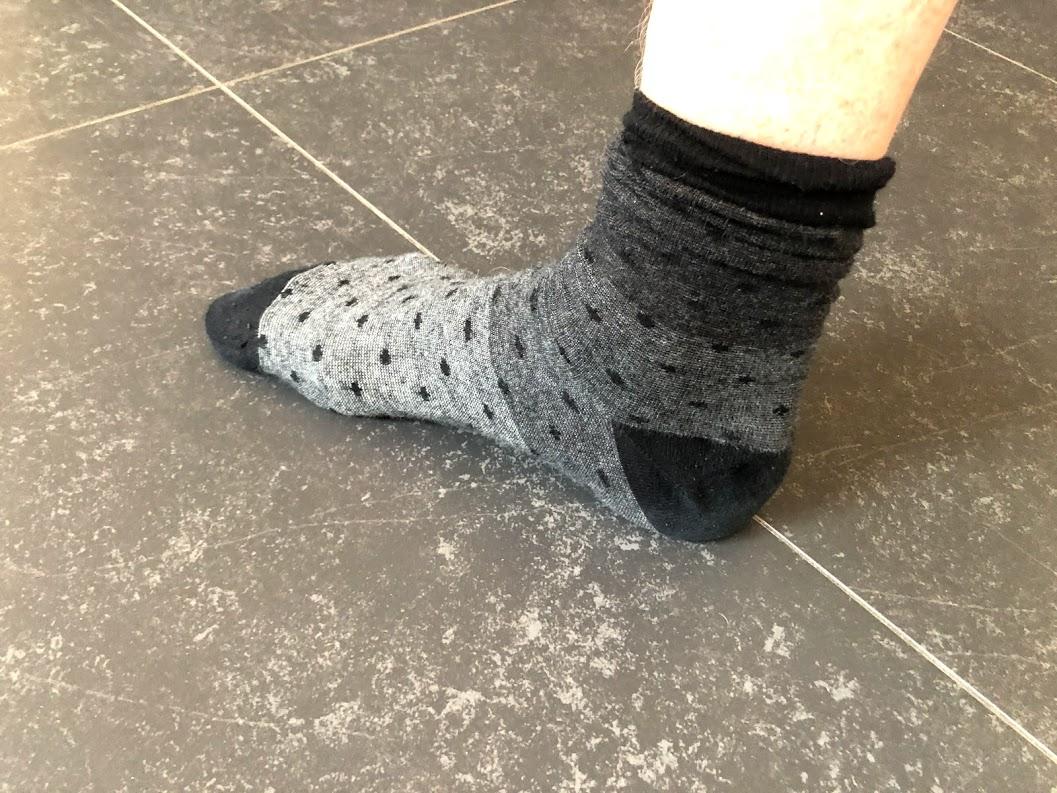 test lugtfrie sokker strømper antibakterielle sokker slut med sure tæer tær erfaring med