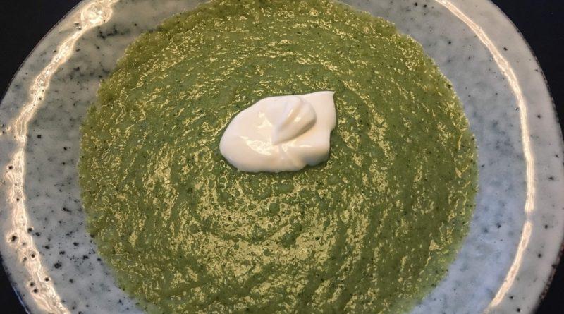 broccoli kartoffel suppe kartoffel og brocoli suppe lækker sund suppe efterår god med bacon