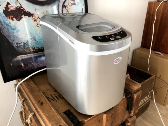 test af isterningemaskine isterningmaskine ismaskine erfaring med til hjemme anmeldelse af 2018 2019 2020 isterning-maskine