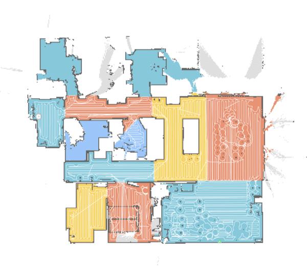 Roborock enkelte rum og zoner