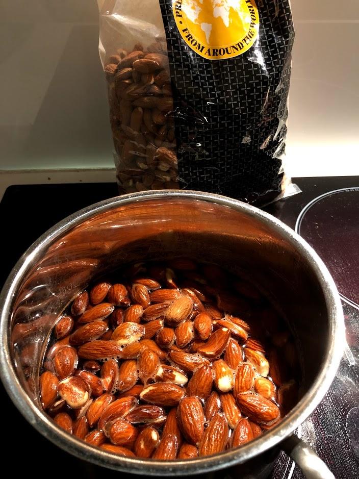 saltmandler opskrift på hjemmelavede saltede mandler gode sådan laver du hvordan laver man