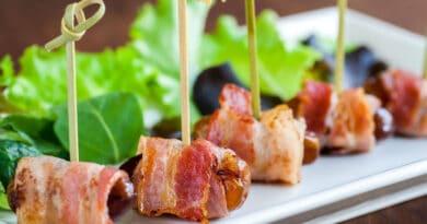 opskrift på dadler med bacon svøb baconsvøb tapas opskriften på