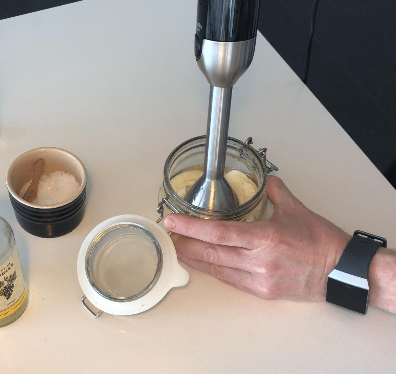 stavblender til aioli og mayonaise opskrift