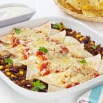 glutenfri madpandekager glutenfrie pandekager med kødfyld fyld opskrift enchiladas