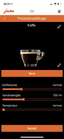 test af jura e8 automatisk espressomaskine anmeldelse smart connect smartconnect Jura E80 fuldautomatisk kaffemaskine god crema er den god erfaring