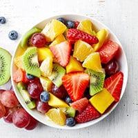 bedste opskrift på frugtsalat med råcreme abemad