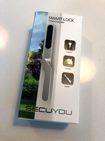 Automatisk terrassedørslås fra Secuyou test af smart lock erfaring med hvordan virker det