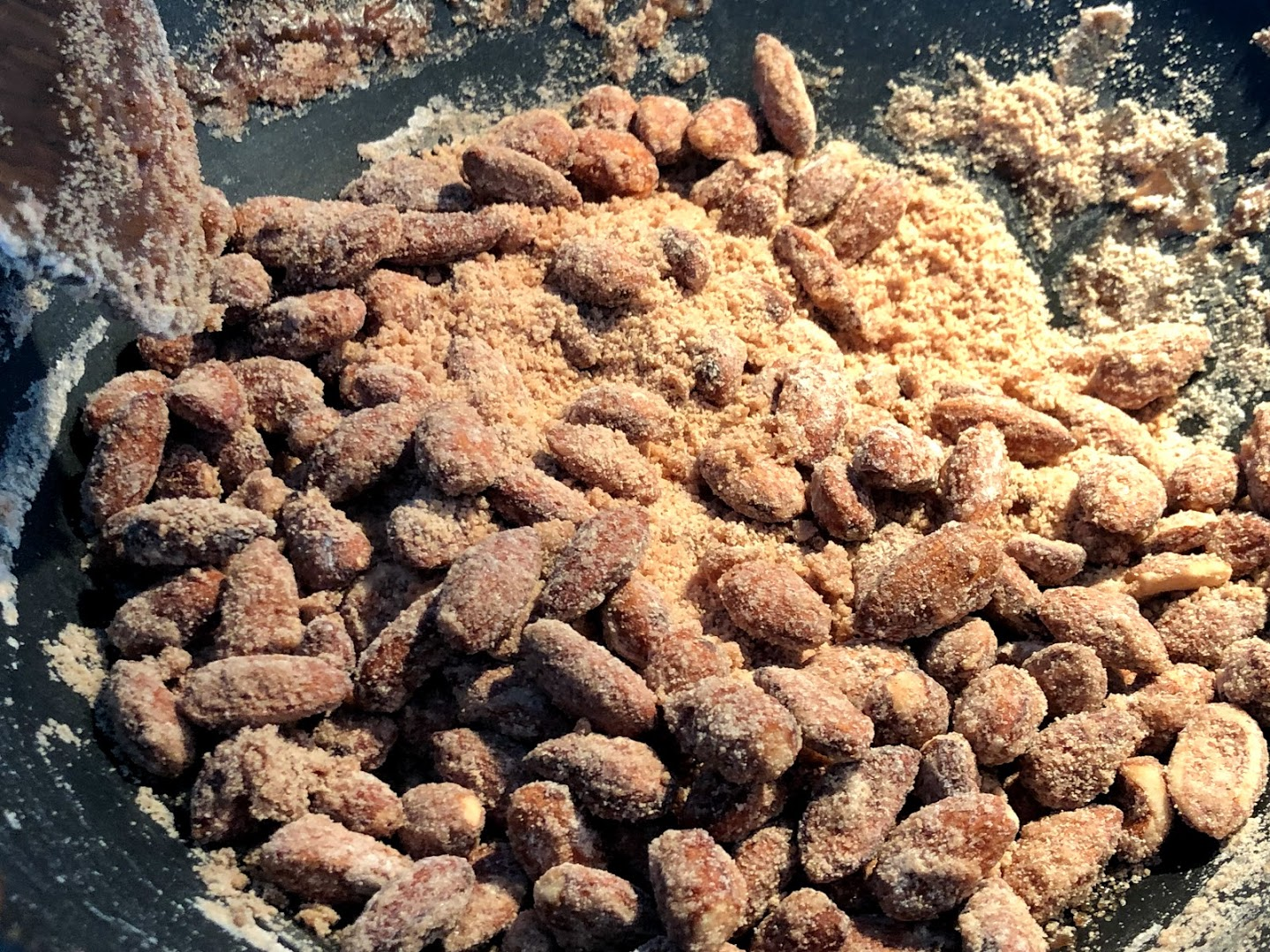 brændte mandler hjemmelavede karamel mandler karamelliserede karameliserede sukker julemandler sukkermandler opskrift på sådan laver du hvordan laver man