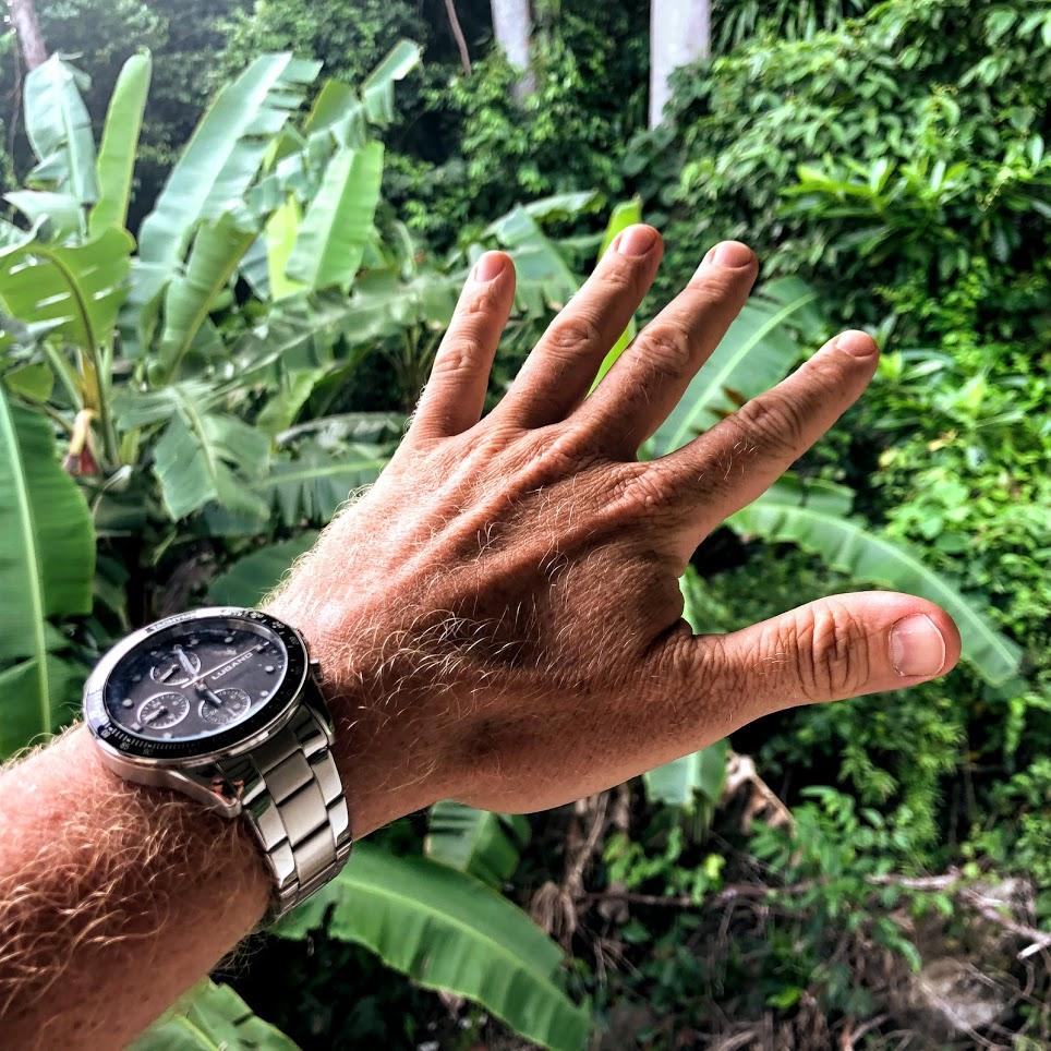 kvalitet billigt ur megir master brown lugano watches chrono black steel test anmeldelse review billige ure af god kvalitet ikke vandtæt ditur.dk