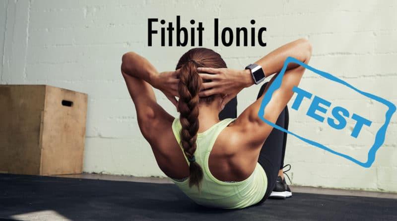 test af Fitbit Ionic anmeldelse erfaring med er det godt et godt fitness ur