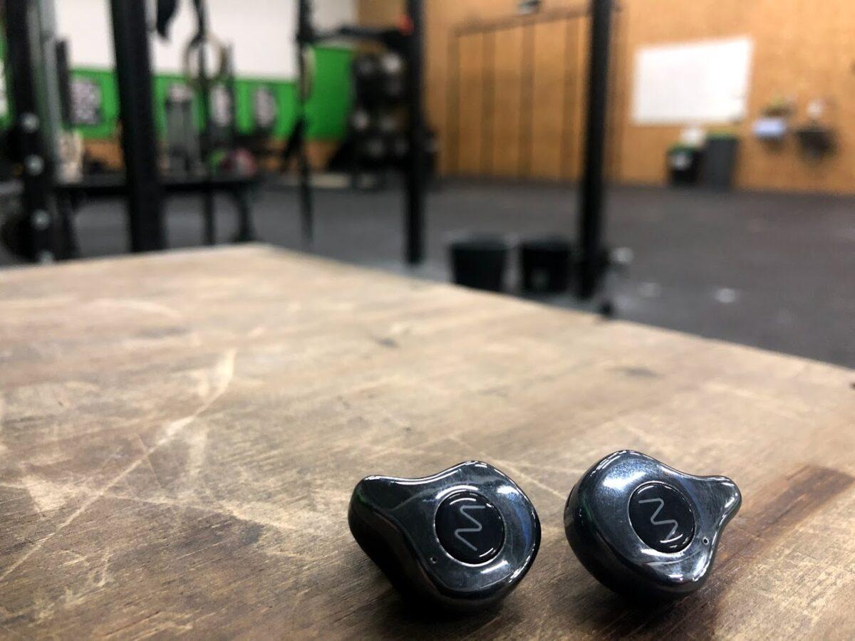test af wavell one anmeldelse af erfaring med trådløst headset til sport sportsheadset godt crossfit