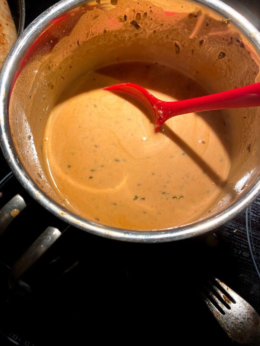BBQ sauce barbeque sovs favorit sauce hjemmelavet jensens favoritsovs