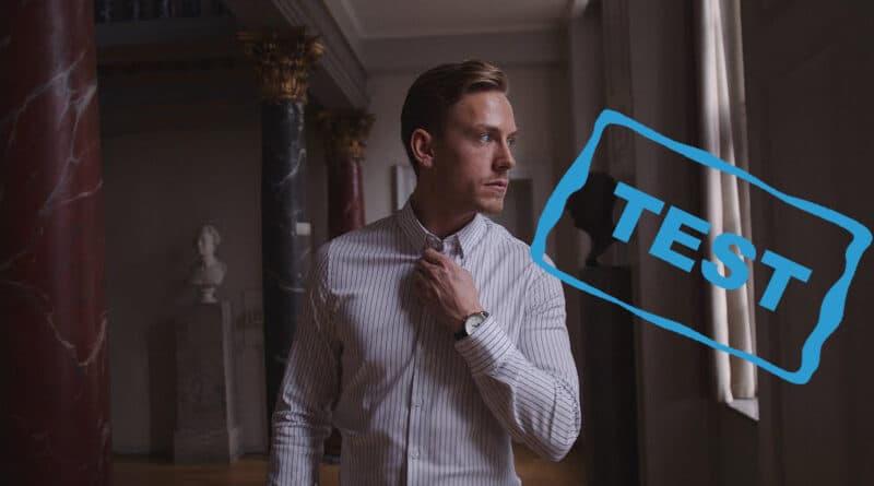 SNT skjorter og uldtrøje classic shirt tencel tenzel skjorte stræk kvalitet test af review