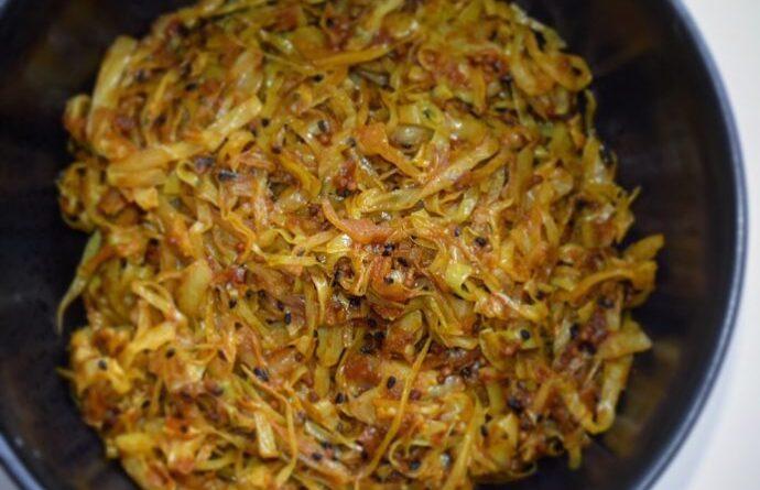 spicy spidskål opskrift tilbehør stegt spidkål indisk inspiration