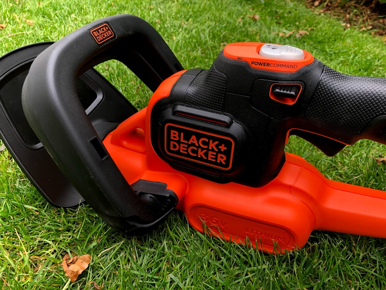 erfaring med anmeldelse test af black and decker hækkeklipper bedste hækkeklippermaskine hvad er den bedste 36V batteri batteridrevet hækklipper hækkeklipper der kører på battery