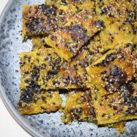 opskrift på de bedste ondwa brød semolina durum grøntsagsbrød indisk