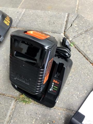 kanttråd til hvor køber jeg ekstra tråd til glc3630l20 glc3630 god elektrisk græstrimmer bedste med batteri 36V Black and Decker kantklipper test anmeldelse af en super