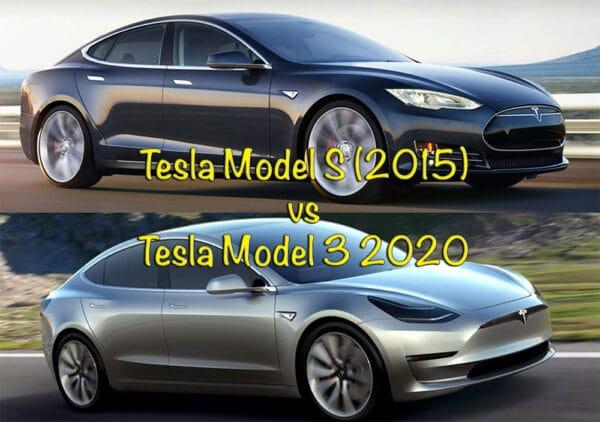 tesla model 3 vs model s sammenligning hvad er bedst brugt eller ny
