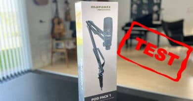 Test: USB mikrofon – Marantz Pod Pack 1