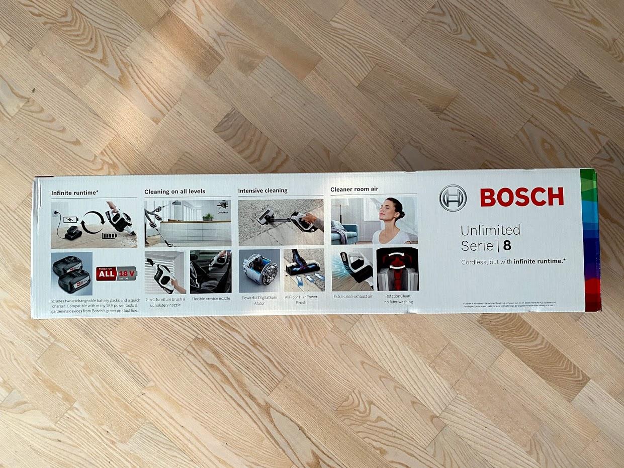 erfaring med bosch ledningsfri støvsuger bosch unlimited serie 8 series test god støvsuger med batteri