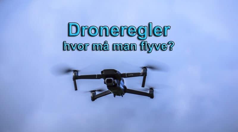 dronebevis dronetegn hvad kræver det hvor må man flyve men en drone droner krav bymæssig bebyggelse droneflyvning legetøjsdrone hvad må man