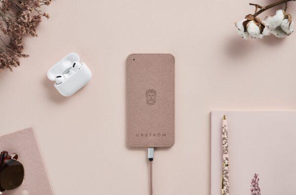 upstrøm upström to100 trådløs oplader for design dansk lækker iphone samsung qi