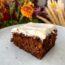 opskrift gulerodskage med hvid creme krydderkage med gulerødder frosting smørcreme flødeost