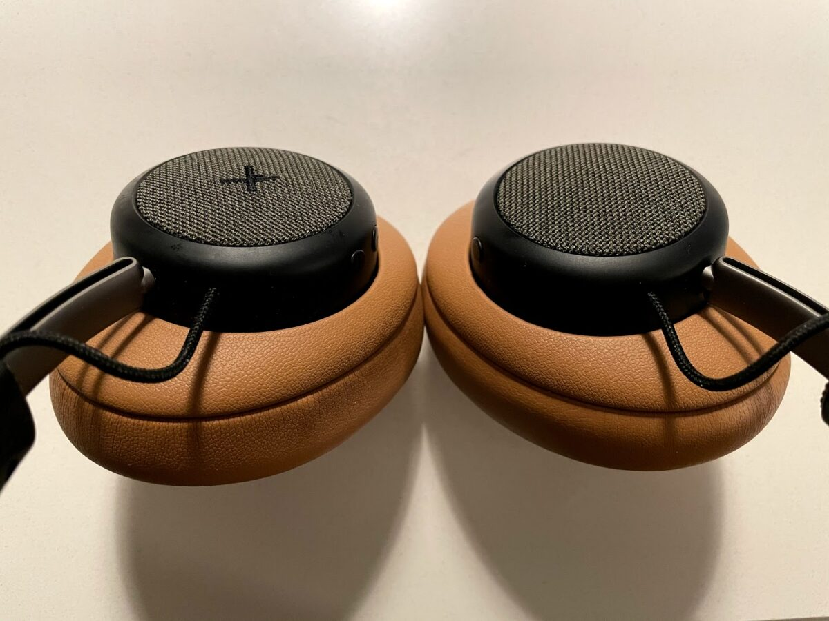 test af sackit touchit over-ear høretelefoner med støjreduktion ANC active noise cancellation hørebøffer støjdæmpning erfaring anmeldelse af