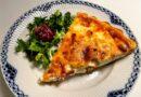 quiche lorraine opskrift ostetærte med bacon og spæk æg tærtedej fransk quichelorraine