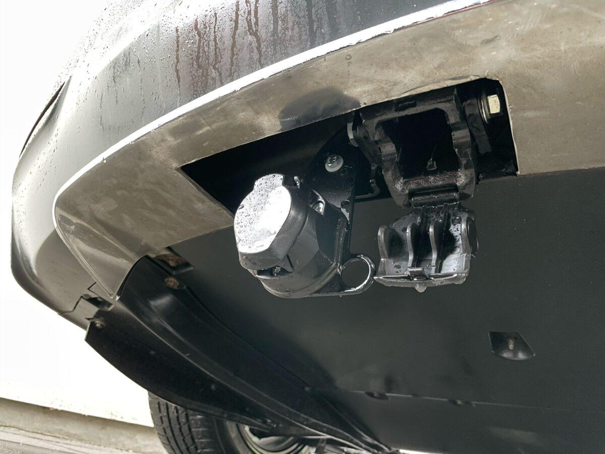 Eftermontering af anhængertræk Tesla model s 2015 2014 2013 2016 montering Hinnerup Auto erfaring værksted Jylland gdw