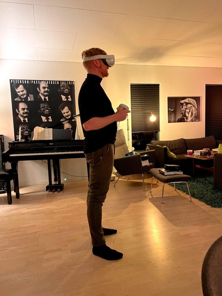 Oculus Quest review test anmeldelse på dansk erfaring er det godt fungerer det fint gode spil