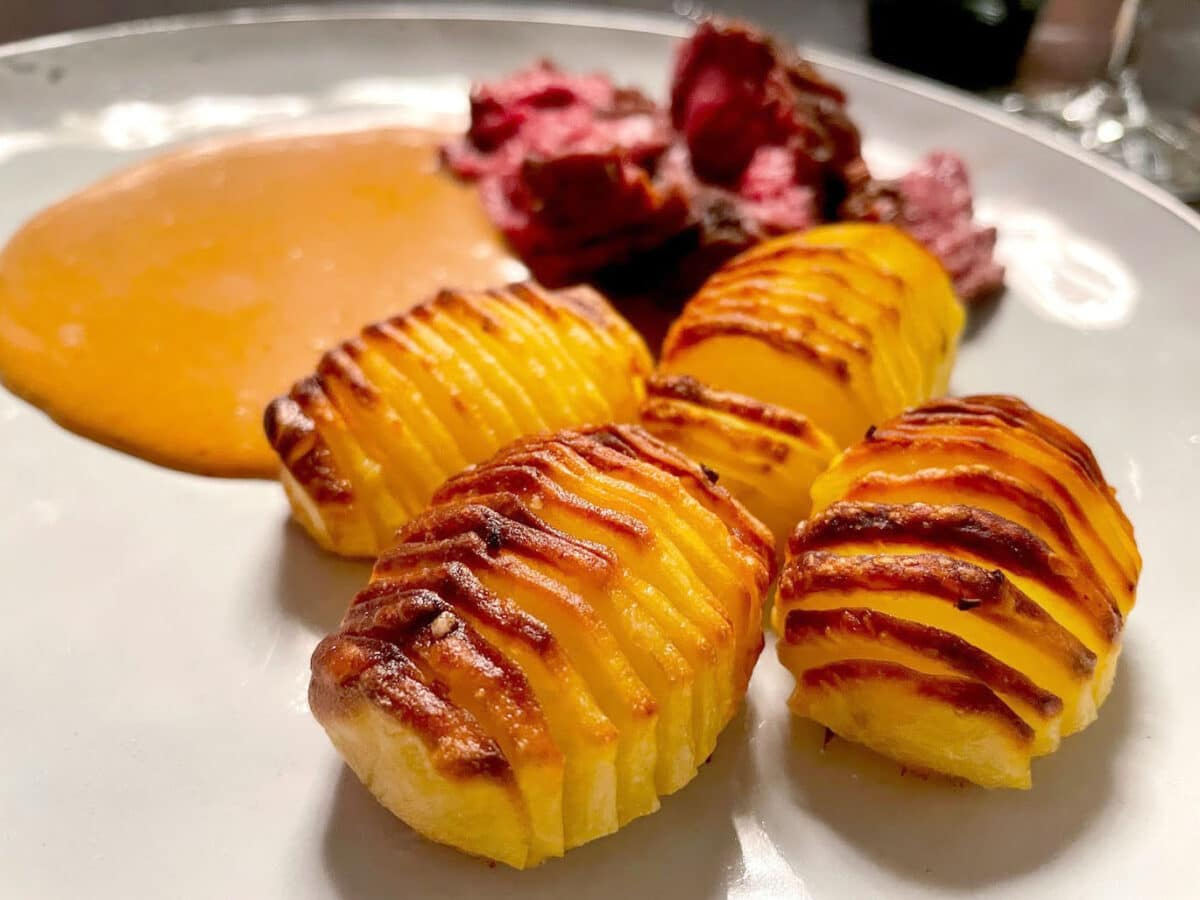hasselback kartofler opskrift god lav hjemmelavede hasselbagte hasselbagte kartoffel
