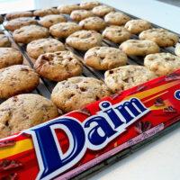 daim cookies opskrift på hjemmelavede