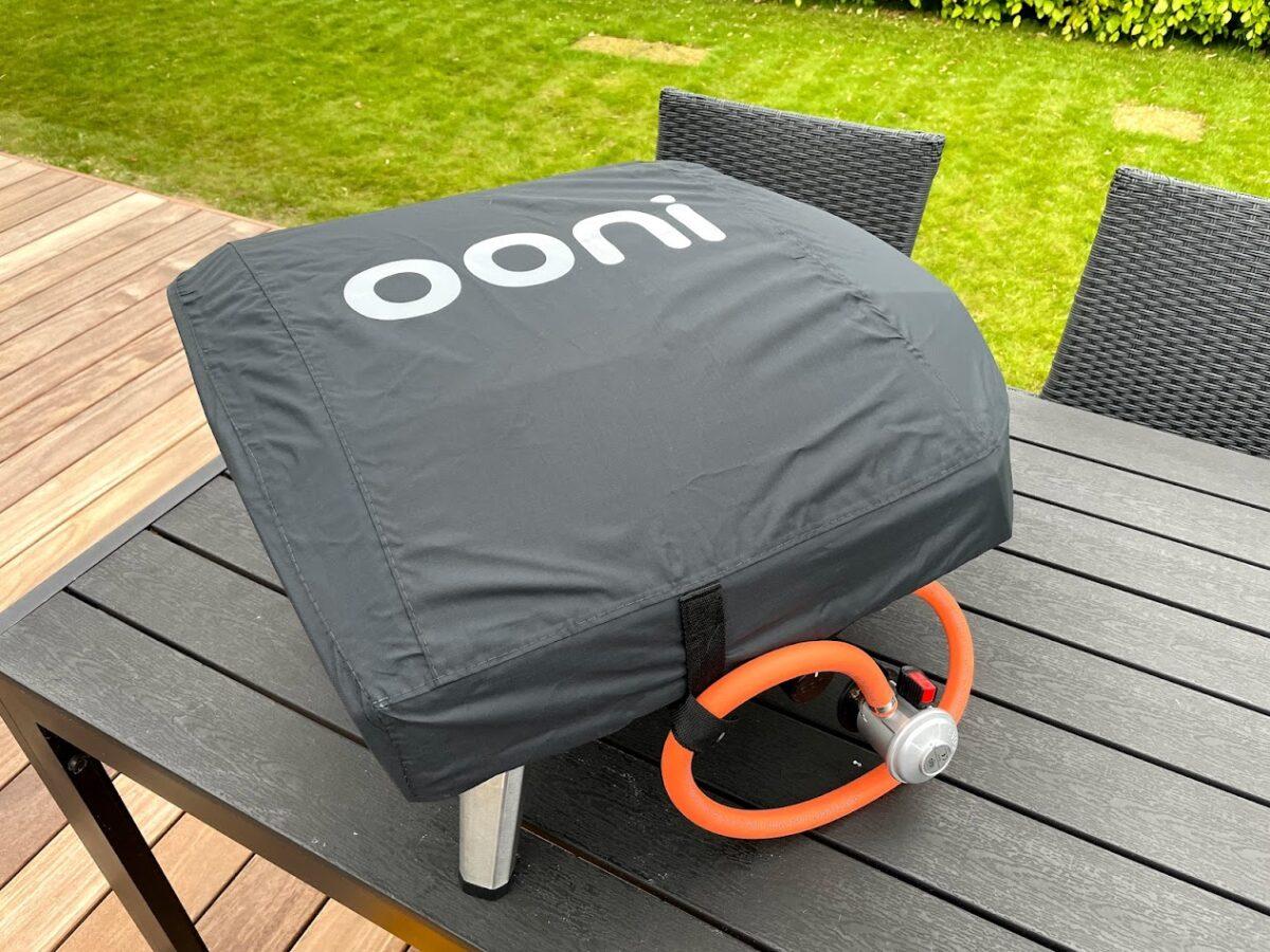 Ooni Koda 16 XL test af anmeldelse erfaring med pizzaovn på gas bedste ovn hjemmelavet pizza-ovn dække overdækning vindfølsom
