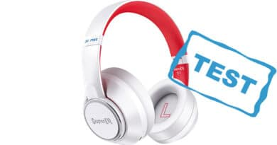 test af super eq 1 supereq1 review gennemgang høretelefoner acitve noice cancelling ANC transparency mode billige hørebøffer god lyd