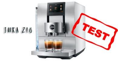 test jura z10 god kaffemaskine fuldautomatisk automatisk bedre end e8 hvid grå bedste espressomaskine
